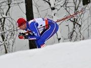 Vítěz posledního ročníku Tour de Ski Švýcar Dario Cologna.