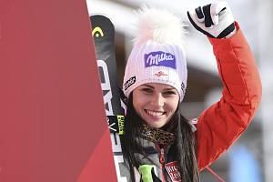 Rakouská lyžařka Anna Veithová.