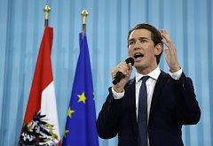 Lídr Rakouské lidové strany (ÖVP) Sebastian Kurz.