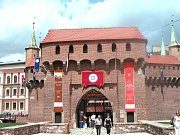 Barbakan v Krakově
