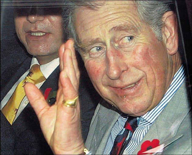 Oslava s rockerem. Prince Charlese pozval Rod Stewart na své panství