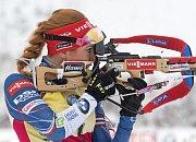 Štafeta žen na MS v biatlonu: Zlato vybojovaly Norky
