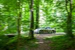 Rally Bohemia, pátý závod seriálu Mistrovství České republiky v rally, pokračovala 2. července. Na snímku Jan Vonka a spolujezdec Jaroslav Kraus s vozem Porsche 911 GT3 na deváté rychlostní zkoušce - Radostín.