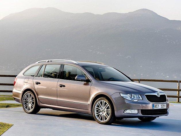 Škoda Superb Combi.