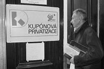 Kupónová privatizace. Ilustrační foto.