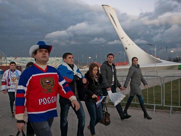 Soči a generálka na olympijský hokejový turnaj