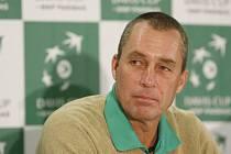 Vítěz Davis Cupu z roku 1980 Ivan Lendl.