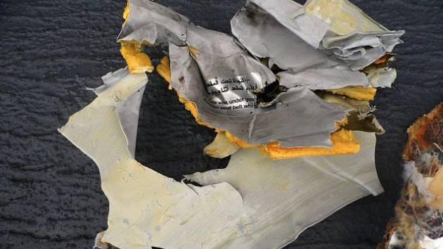 Průzkumná loď nalezla ve Středozemním moři trosky letounu egyptské společnosti Egyptair. Ilustrační foto.