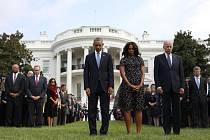 Americký prezident Barack Obama i rodiny obětí si dnes připomněli 13. výročí teroristických útoku z 11. září 2001.