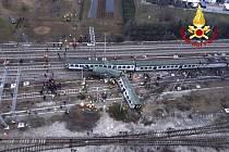 Železniční neštěstí u Milána
