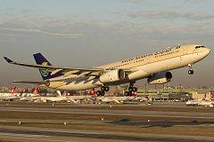 Airbus A330 společnosti Saudi Arabia Airlines