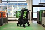 Chytrý nákupní košík Amazonu v Los Angeles