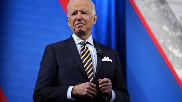 Americký prezident Joe Biden v Milwaukee
