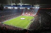 Olympijský stadion v Mnichově.