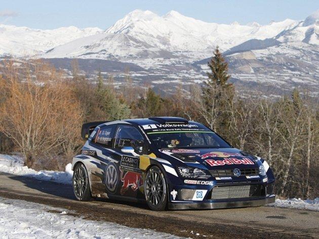 Sébastien Ogier na Rallye Monte Carlo.