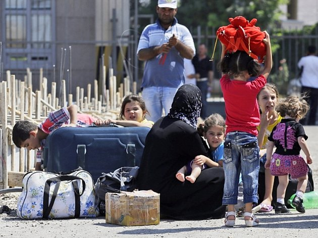 Syrští uprchlíci. Ilustrační fotografie.