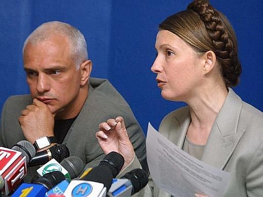 Julija Tymošenková a její manžel Oleksander