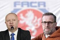 Petr Fousek a Karel Poborský