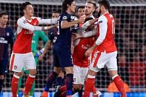Arsenal Londýn - Paris St. Germain 2:2