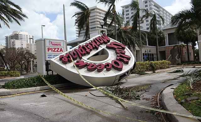 Škody napáchané Irmou; Florida