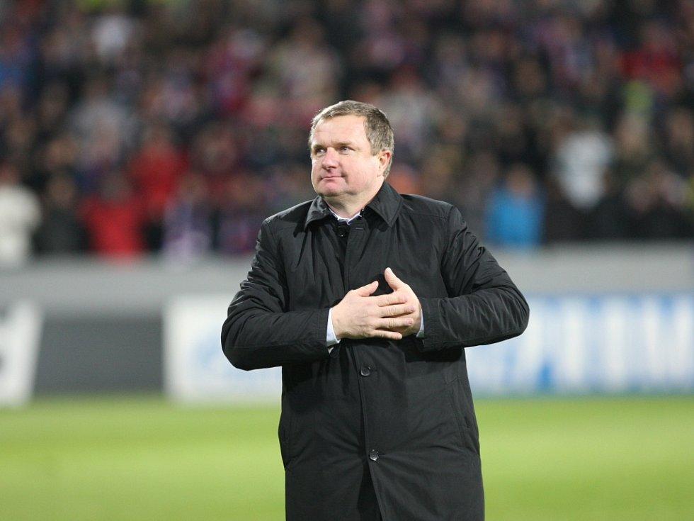 Trenér Pavel Vrba po výhře nad CSKA Moskva přiznal, že na vítěznou tečku v Plzni bude vzpomínat celý život.