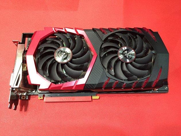 Grafická karta MSI GeForce GTX 1080schladičem Twin Frozr VI.