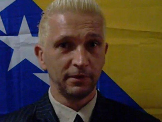 Kandidát na starostu bosenské Zenice Mirad Hadžiahmetović