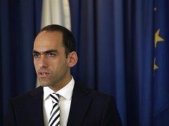 Kyperský ministr financí Charis Georgiadis.