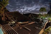 Následky zemětřesení na indonéském ostrově Lombok.