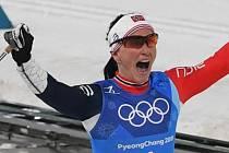 Marit Björgenová už ví, že se zapsala do dějin běžeckého lyžování.