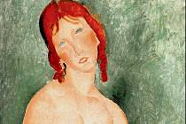 Amedeo Modigliani: Mladá žena v košili (1918)