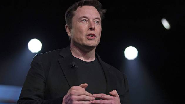 Americký podnikatel Elon Musk, zakladatel společností Tesla a SpaceX