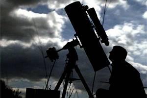 Hvězdářský dalekohled. Ilustrační snímek