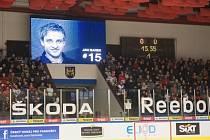 Zimní stadion v Jindřichově Hradci byl 3. dubna před utkáním hokejové Euro Hockey Challenge Česká republika - Lotyšsko pojmenován po zesnulém hokejistovi Janu Markovi.