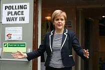 Skotská premiérka Nicola Sturgeonová.