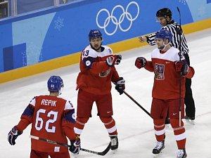 ZOH 2018: Hokej: Česko - Korea