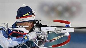 Ondřej Moravec na olympijských hrách v Pchjongčchangu.