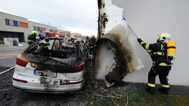 Požár způsobil vysokou škodu