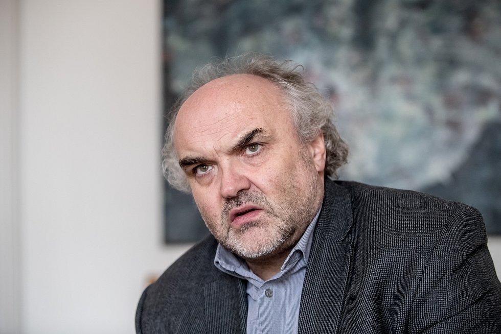 Generální ředitel Národní galerie Jiří Fajt.