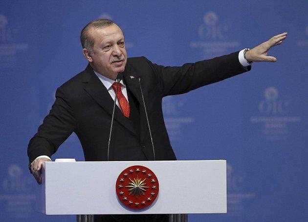 Prezident Erdogan na zasedání Organizace islámské spolupráce