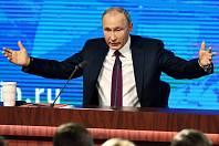 Ruský prezident Vladimír Putin.