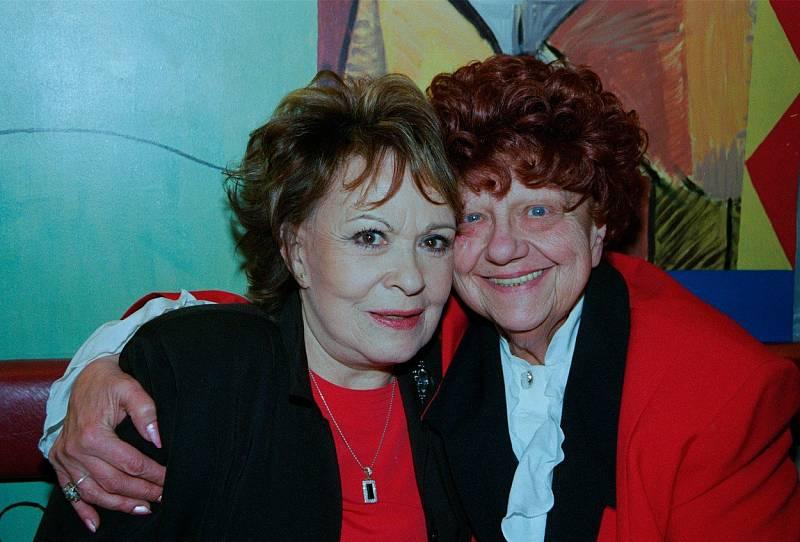 S Helenou Růžičkovou pojilo Jiřinu Bohdalovou dlouholeté přátelství.