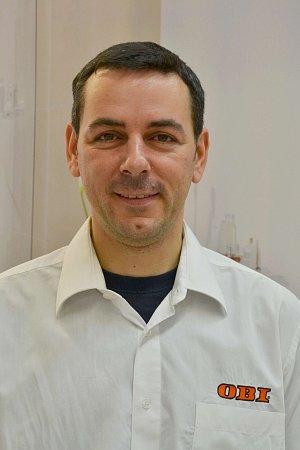 Stanislav Eder, vedoucí oddělení stavby, OBI Praha - Štěrboholy