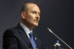 Turecký ministr vnitra Süleyman Soylu