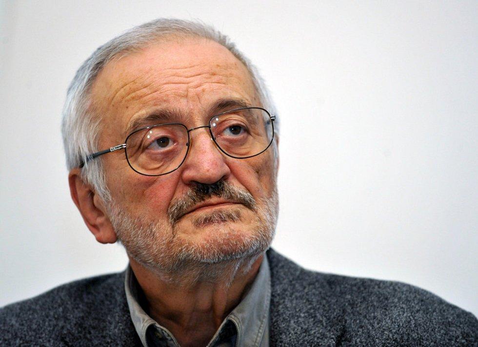 Slovenský herec a komik Milan Lasica (na snímku z 1. prosince 2010)