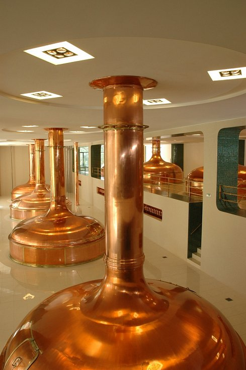 Výroba piva - varna