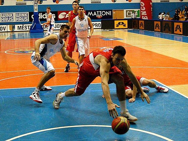Basketbalisté Prostějova porazili ve Vyzývacím poháru Pardubice.