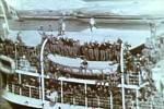 Koncem června 1940 se po pádu Francie zaplnil kanál La Manche německými a italskými transportními loděmi plnými vojáků