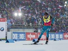 Diváky v Novém Městě na Moravě dostal do varu i biatlonový král Martin Fourcade.