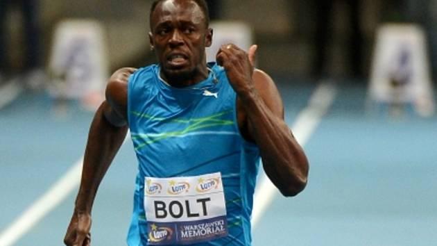 Usain Bolt suverénně vyhrál závod na 100 metrů na mítinku ve Varšavě.